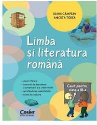 Limba şi literatura română. Caiet pentru clasa a III-a (ISBN: 9789731357881)