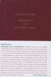Erkenntnis und Unsterblichkeit - Rudolf Steiner, Ulla Trapp, Rudolf Steiner Nachlassverwaltung (2013)