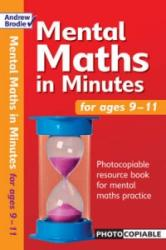 Mental Maths in Minutes for Ages 9-11 - Andrew Brodie (2004)