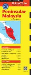 Peninsular Malaysia Travel Map (2013)