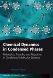 Chemical Dynamics in Condensed Phases - Abraham Nitzan (2014)