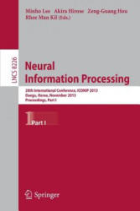 Neural Information Processing - 20th International Conference, ICONIP 2013, Daegu, Korea, November 3-7, 2013. Proceedings, Part I (2013)