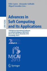 Advances in Soft Computing and Its Applications - 12th Mexican International Conference on Artificial Intelligence, MICAI 2013, Mexico City, Mexico, (2013)