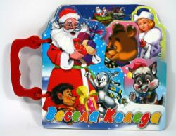 Весела Коледа/ Книжка с дръжка - изрязана (2013)