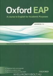 Oxford EAP: Advanced/C1: Student's Book and DVD-ROM Pack - Edward de Chazal, Julie Moore (ISBN: 9780194001793)