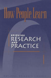 How People Learn: : Bridging Research and Practice (ISBN: 9780309065368)
