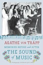 Memories Before and After the Sound of Music - Agathe von Trapp (ISBN: 9780061998812)