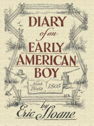 Diary of an Early American Boy - Eric Sloane (ISBN: 9780486436661)
