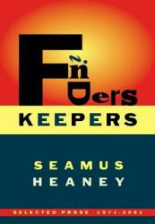 Finders Keepers: Selected Prose 1971-2001 (ISBN: 9780374528782)