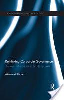 Rethinking Corporate Governance (2010)