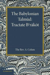 Babylonian Talmud - A. Cohen (2013)