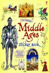 Middle Ages Sticker Book - Abigail Wheatley & Giorgio Bacchin (2014)