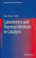 Calorimetry and Thermal Methods in Catalysis (2013)
