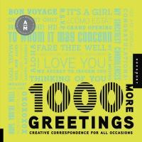 1, 000 More Greetings - Aesthetic Movement (ISBN: 9781592536405)