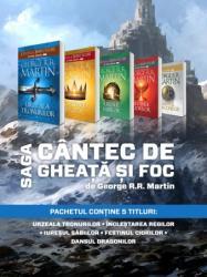 Saga 'Cantec de gheata si foc' 1-5 (2014)