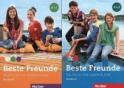 Kursbuch A1/1 und A1/2, 2 Bde. - Manuela Georgiakaki, Monika Bovermann, Elisabeth Graf-Riemann, Christiane Seuthe (2014)