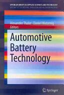 Automotive Battery Technology (2014)