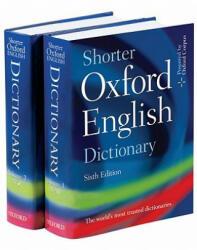 Shorter Oxford English Dictionary - OXFORD Coll (ISBN: 9780199206872)