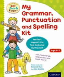 Oxford Reading Tree: Read with Biff, Chip and Kipper: My Grammar, Punctuation and Spelling Kit (2013)