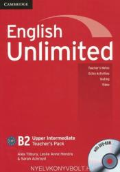 English Unlimited B2 Upper Intermediate Teacher's Book Pack with DVD-ROM (ISBN: 9780521151702)