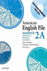 American English File Level 2: Student Book/Workbook Multipack A - Clive Oxenden, Christina Latham-Koenig, Paul Seligson (ISBN: 9780194774376)