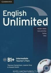 English Unlimited Intermediate Teacher's Book with DVD-ROM (ISBN: 9780521157179)