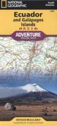 Ecuador Galapagos Adventure Travel Map (2011)