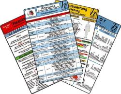 Ambulanz Karten-Set - EKG, Laborwerte, Notfallmedikamente, Reanimation (2014)