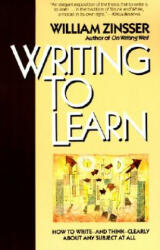 Writing to Learn Rc (ISBN: 9780062720405)