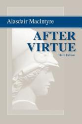 After Virtue (ISBN: 9780268035044)