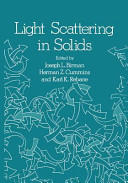 Light Scattering in Solids - Proceedings of the Second Joint USA-USSR Symposium (2012)
