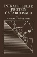 Intracellular Protein Catabolism II (2012)