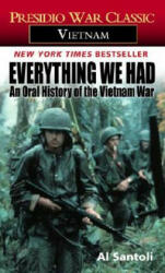 Everything We Had - Al Santoli (ISBN: 9780345322791)
