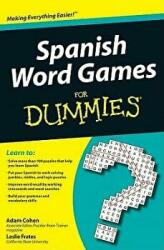 Spanish Word Games for Dummies (ISBN: 9780470502006)