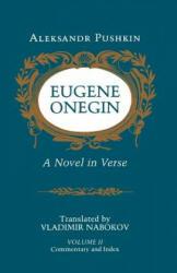 Eugene Onegin: A Novel in Verse: Commentary (ISBN: 9780691019048)