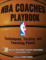 NBA Coaches Playbook - Giorgio Gandolfi, National Basketball Coaches Association (ISBN: 9780736063555)
