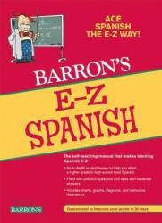 E-Z Spanish Grammar - Ruth J. Silverstein, Allen Pomerantz (ISBN: 9780764141294)