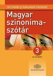Magyar szinonimaszótár 3 az egyben (2014)