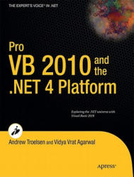 Pro VB 2010 and the . NET 4.0 Platform - A Troelsen (ISBN: 9781430229858)