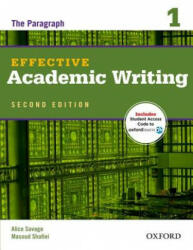 Alilce Savage - Masoud Shafiei: Effective Academic Writing 2e Student Book 1 (2012)