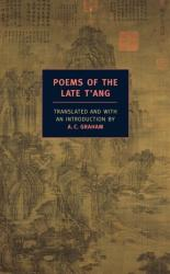 Poems of the Late T'ang (ISBN: 9781590172575)