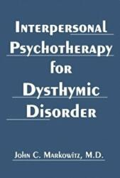 Interpersonal Psychotherapy for Dysthymic Disorder (2004)