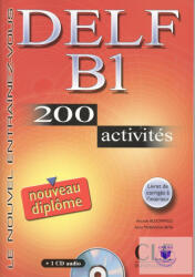 DELF B1 200 activités Livre + Audio CD (ISBN: 9782090352306)