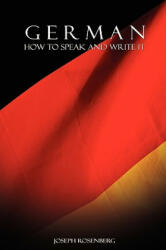 German: How to Speak and Write It (ISBN: 9789650060350)