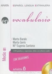 VOCABULARIO Medio B1 + AUDIO CD - AA. VV (ISBN: 9788467815368)