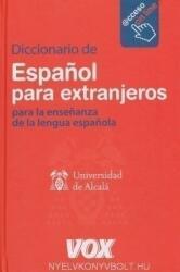 VOX Diccionario de Espanol para extranjeros- para la ensenanza de la lengua espanola - Acceso on line (ISBN: 9788471538529)