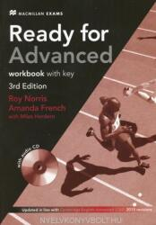 Ready for Advanced 3rd Edition Workbook with Key Pack (ISBN: 9780230463608)