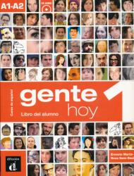 Gente hoy 1. Nivel A1-A2. Libro del alumno + CD (ISBN: 9788415620785)