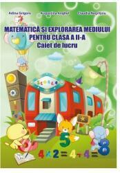 Matematică și explorarea mediului. Clasa II. Caiet de lucru (ISBN: 9786065744257)