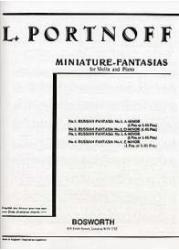 Leo Portnoff: Russian Fantasia No. 2 In D Minor For Violin And Piano (ISBN: 9780711995284)